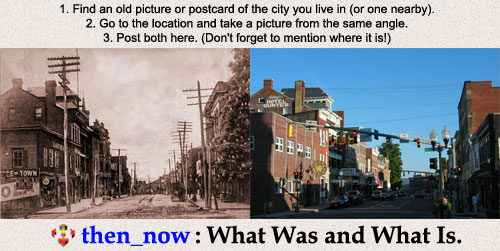 Then And Now Photos - WWW.XYDEXX.COM